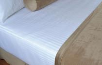 Berkshire Soft Dimensions™ Damark Stripe Top Sheet 96x120 Full/Queen