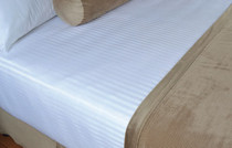 Berkshire Soft Dimensions™ Damark Stripe Top Sheet 112x120 King