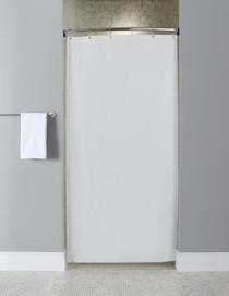 Stall Size 10-Gauge Vinyl Shower Curtain, 36x72, 12 Per Case, Price Per Each