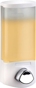 Better Living 76154 Euro Uno Dispenser, Translucent Container, White