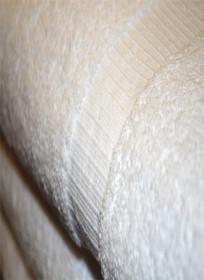 Oxford Bellezza Bath Towel 27x54, 17 lb., 100% Cotton, Dobby Rib Border & Dobby Hemmed, White, 1 dozen