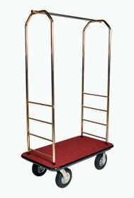 Easy-Mover Brasstone Series Bellman Cart