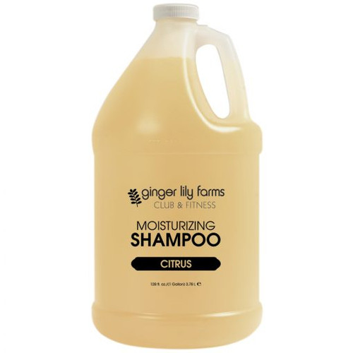 Ginger Lily Farms Club and Fitness Formula Citrus Shampoo Gallon - Case of 4