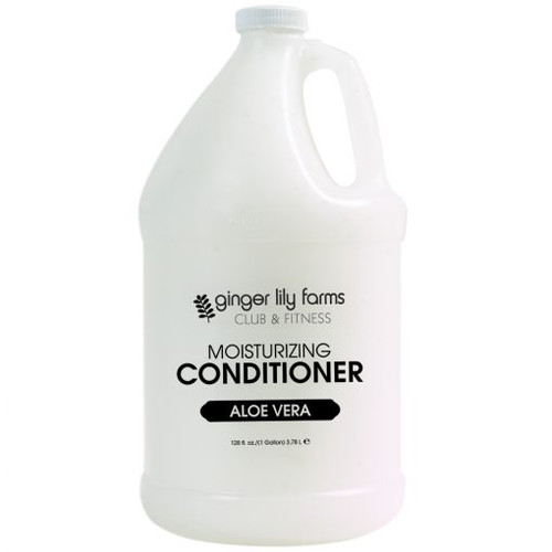 Ginger Lily Farms Club and Fitness Formula Aloe Vera Conditioner Gallon - Case of 4
