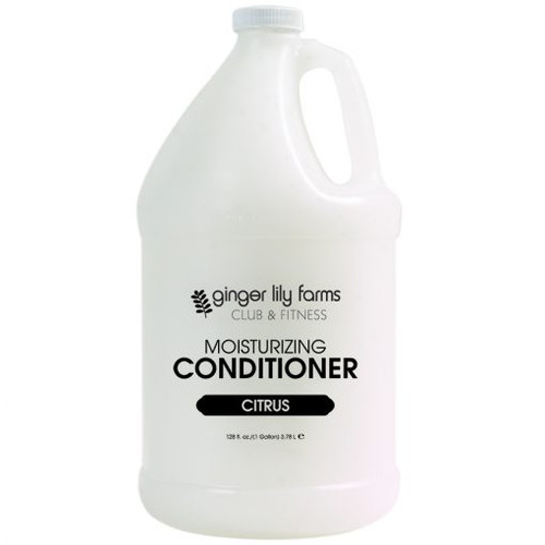 Ginger Lily Farms Club and Fitness Formula Citrus Conditioner Gallon - Case of 4