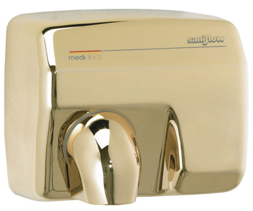 Saniflow E88AO-UL Automatic Hand Dryer - Golden Finish