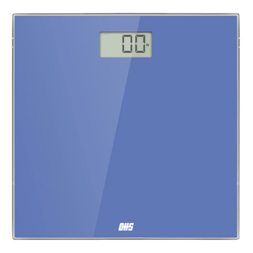 Optima Essence ES-400 Bathroom Scale, 400 lb Capacity, Low Profile, Tempered Glass, Auto On/Off