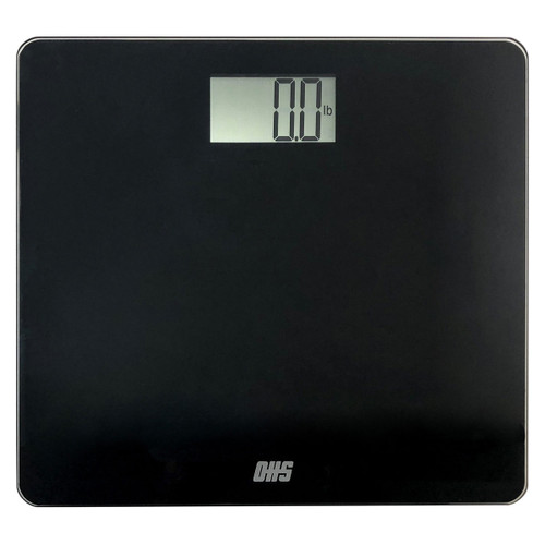 Optima Tone TN-330 Talking Bathroom Scale, 330 lb Capacity,  English/Spanish, Auto On/Off