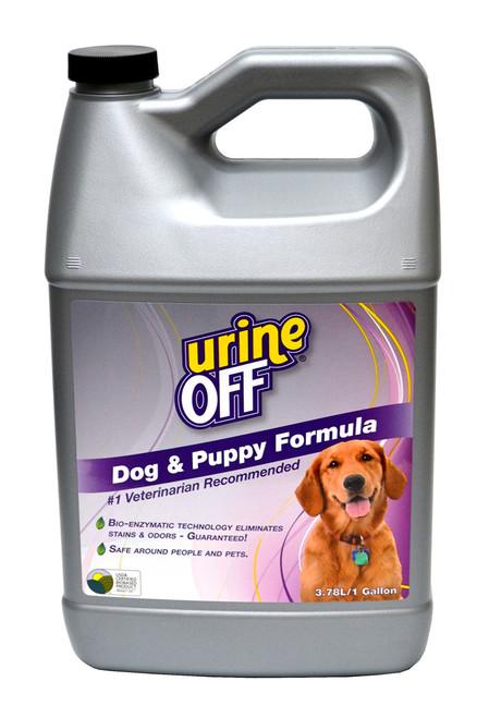 Urine Off Dog & Puppy Formula, Dog Urine Remover, 1 Gallon, Enzymatic Cleaner for Dog Urine