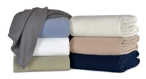 Berkshire Microloft Fleece Blanket, 66x90 Twin