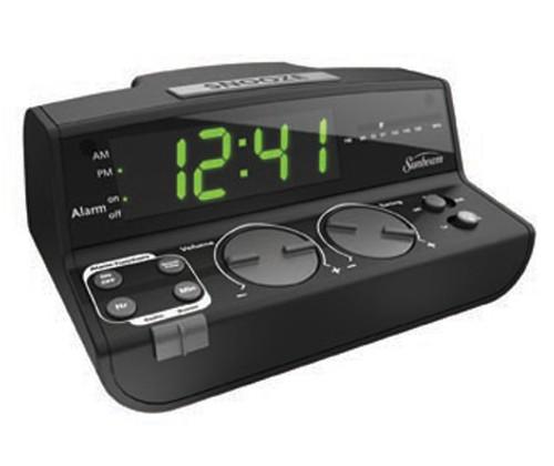 Sunbeam CR1001-005 Clock Radio with Daily Alarm Reset