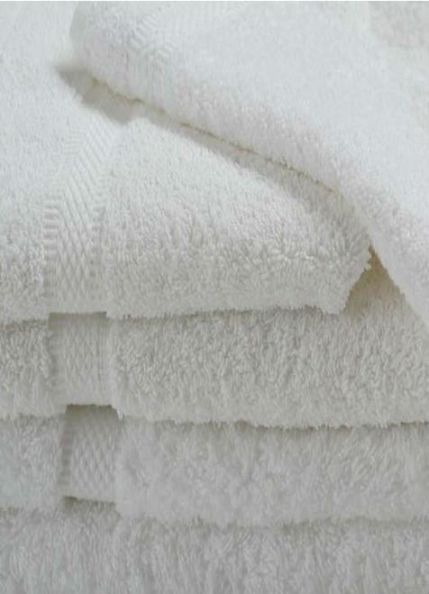 Oxford Imperiale Pool Towel 35x70, 20 lb., 100% Cotton, Dobby Border & Dobby Edge, White, 1 dozen