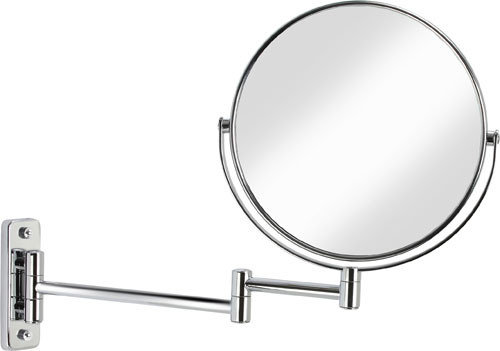 Better Living Cosmo 8 Inch Wall Mount Mirror. Chrome