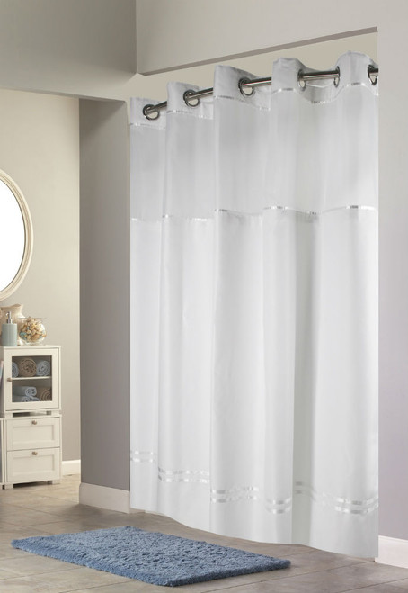 Hookless Escape Fabric Shower Curtain, 12 Per Case, Price Per Each