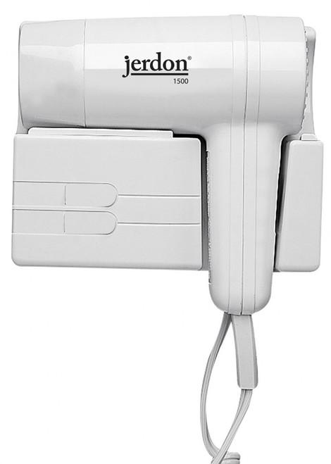 Jerdon JWM5CF Wall Mount Hair Dryer - Plug In