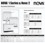 World Dryer 0833 Nova 1 Plug-in Automatic Hand Dryer