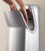 World Dryer VMax V-639A High Speed Vertical Hand Dryer 110-120V, HEPA Filter System, High Impact ABS, Silver