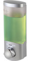Better Living 76134 Euro Uno Dispenser, Translucent Container, Satin Silver