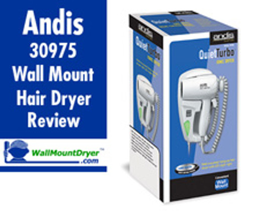 Andis 30975 HD-10L Unboxing and Review