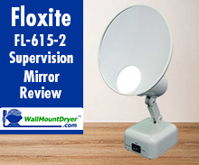 Floxite FL-615-2 15X Supervision Lighted Vanity Mirror - Unboxing and Review
