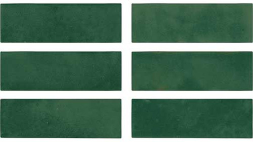 """BEJMAT TILE COLLECTION Olive Gloss 2""""x6"""""""