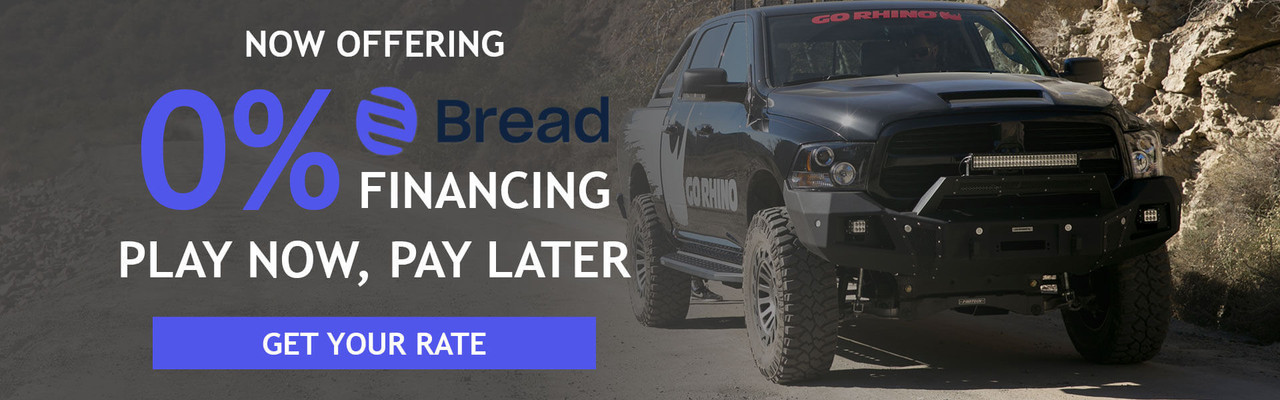 Now Offering Bread Financing