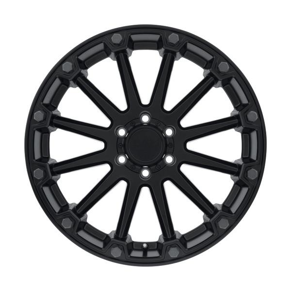Black Rhino Pinnacle Semi Gloss Black Wheels