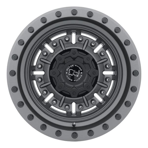 Black Rhino Abrams Matte Gunmetal Wheels