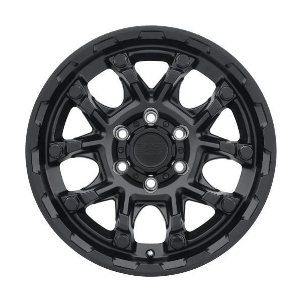 Black Rhino Ark Matte Black Wheels