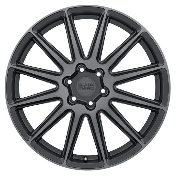 Black Rhino Waza Brushed Gunmetal Wheels