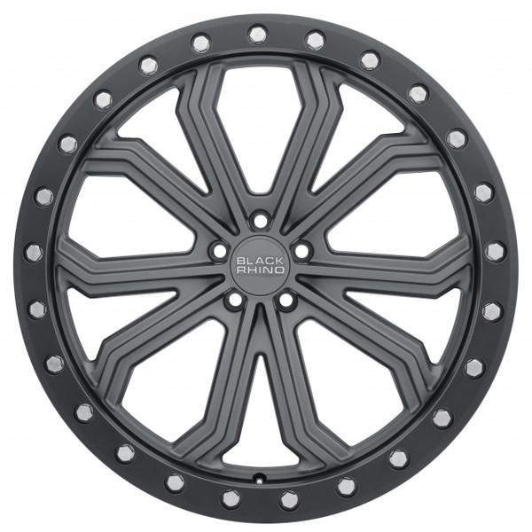 Black Rhino Trabuco Matte Gunmetal Wheels
