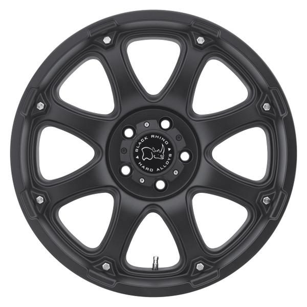 Black Rhino Glamis Matte Black Wheels