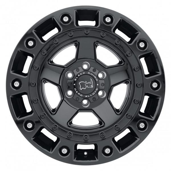 Black Rhino Cinco Gloss Black Wheels