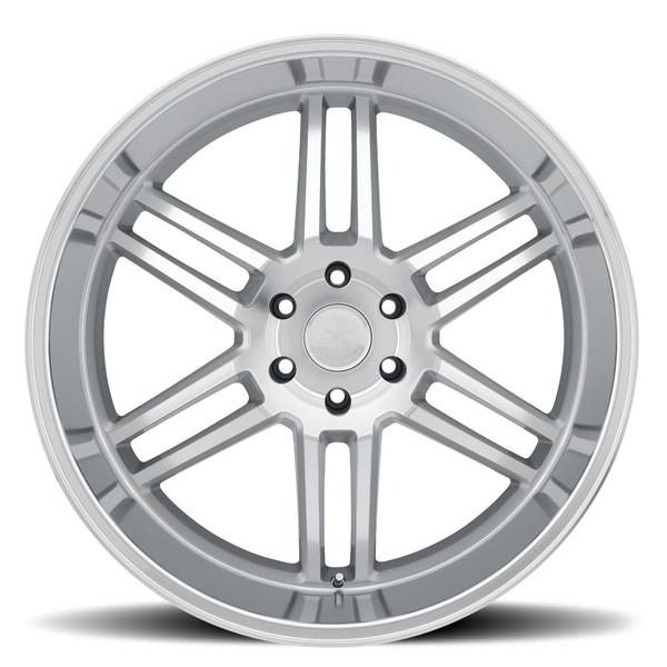 Black Rhino Katavi Silver Wheels