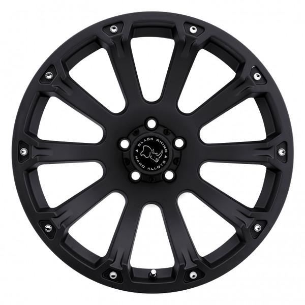 Black Rhino Sidewinder Matte Black Wheels