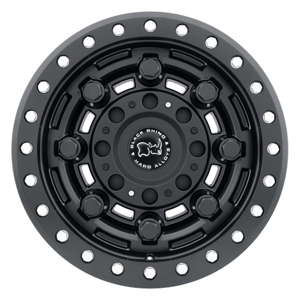 Black Rhino Garrison Beadlock Matte Black Wheels