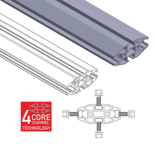 SRM500 Flat Roof Rack