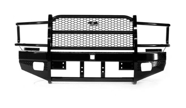 Sport Series Winch Ready Front Bumper Replacement With Grille Guard