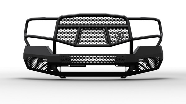 Midnight Series Front Bumper Replacement With Grille Guard