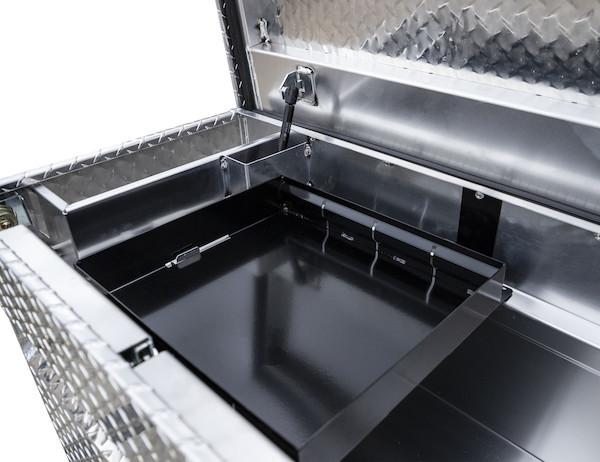 Diamond Tread Aluminum Single Lid Crossover Truck