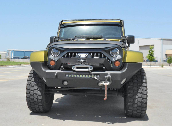Winch, Shackles, Lights, and Jeep Not Included