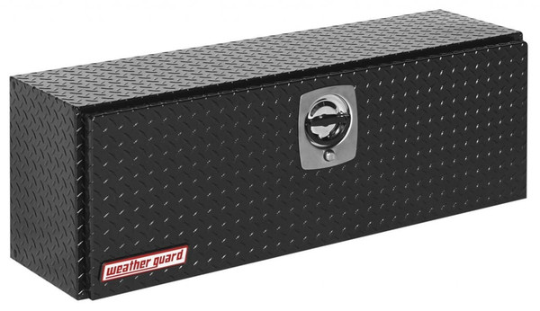 Aluminum Top Side Hi-Side ToolBoxes  Black Powder Coat