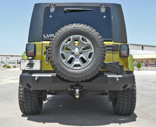 Bumper Only - Tire Carrier and Hitch Ball Mount Not Included