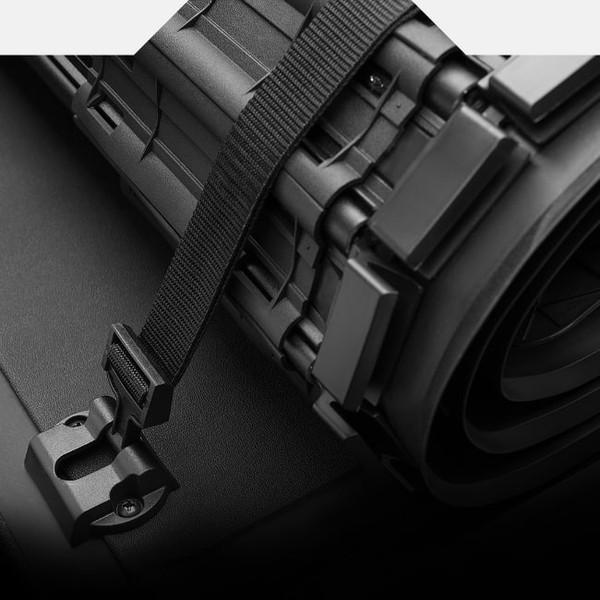 Interlocking Aluminum Slats and HD Straps
