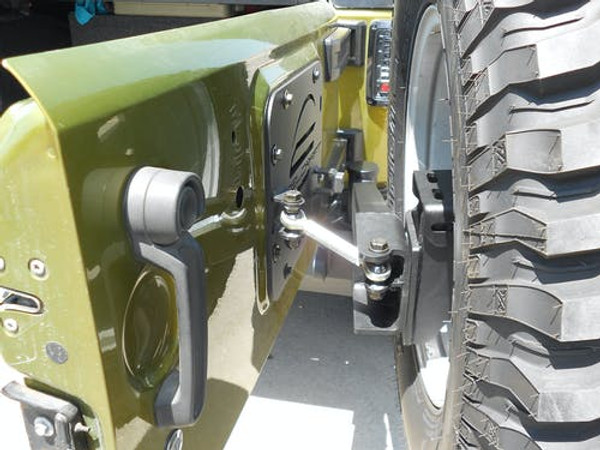 Steelcraft Spare Tire Carrier and Relocation Kits for Jeep Wrangler