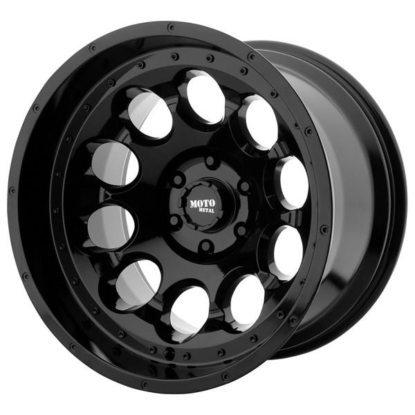 Moto Metal Gloss Black Rotary Wheels