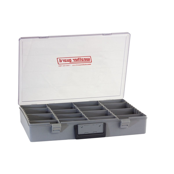 Parts Box Adj Compartments 18 in x 13 in x 3 in
