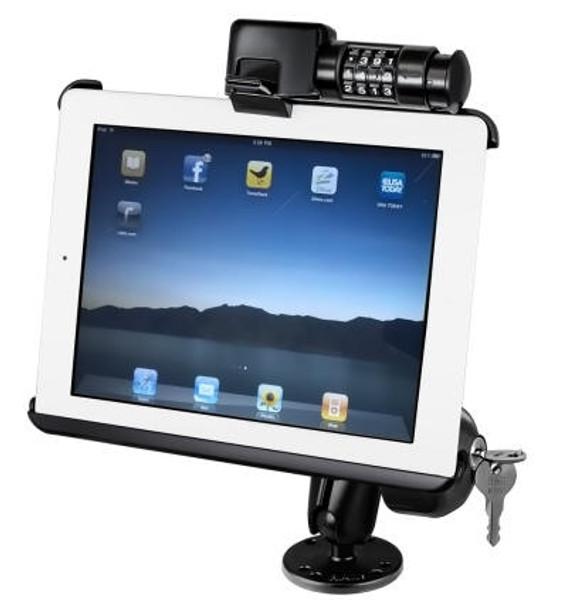 Locking Flat Surface Mount Cradle iPad