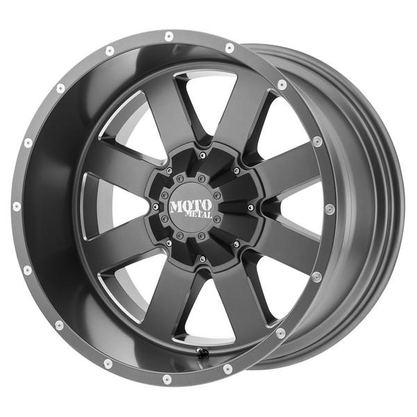 Moto Metal Grey MO962 Wheels