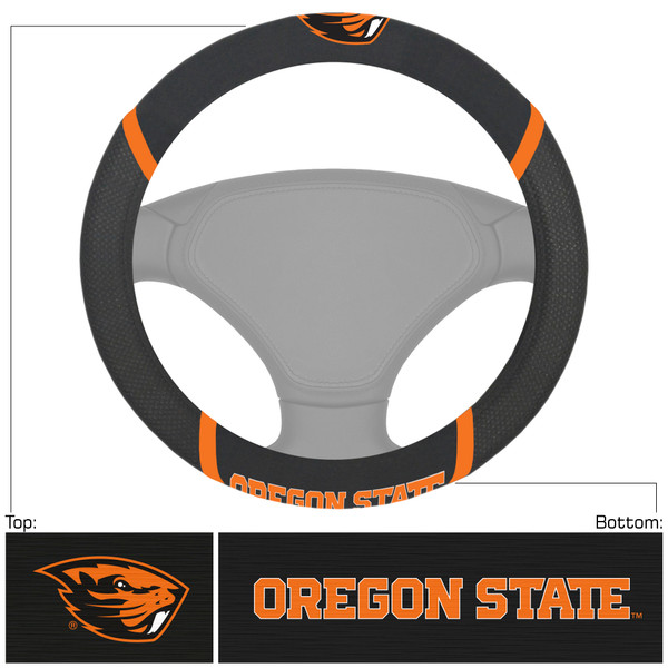 FanMats Oregon State Steering Wheel Cover